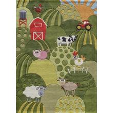 Lil Mo Whimsy Farm Land Lmj-11 Grass - 2.0 x 3.0
