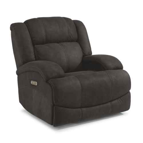 Product Image - Declan Fabric Power Gliding Recliner with Power Headrest