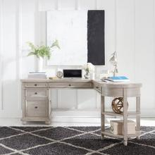 See Details - L Writing Desk Top