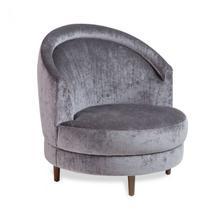 Capri Swivel Lounge Chair - Grey