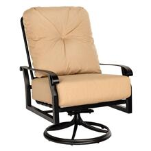 See Details - Cortland Cushion Big Man's Swivel Rocking Lounge Chair