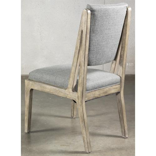 Milton Park - Upholstered Side Chair - Primitive Silk Finish