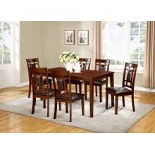 See Details - 7 PC Dining - Dining Table and 6 Chairs