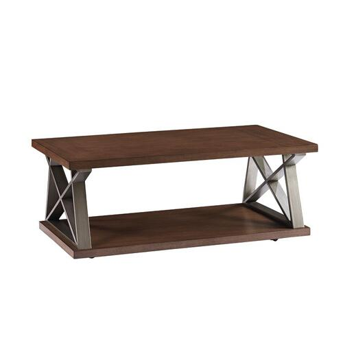 Cumberland Cocktail Table, Brown