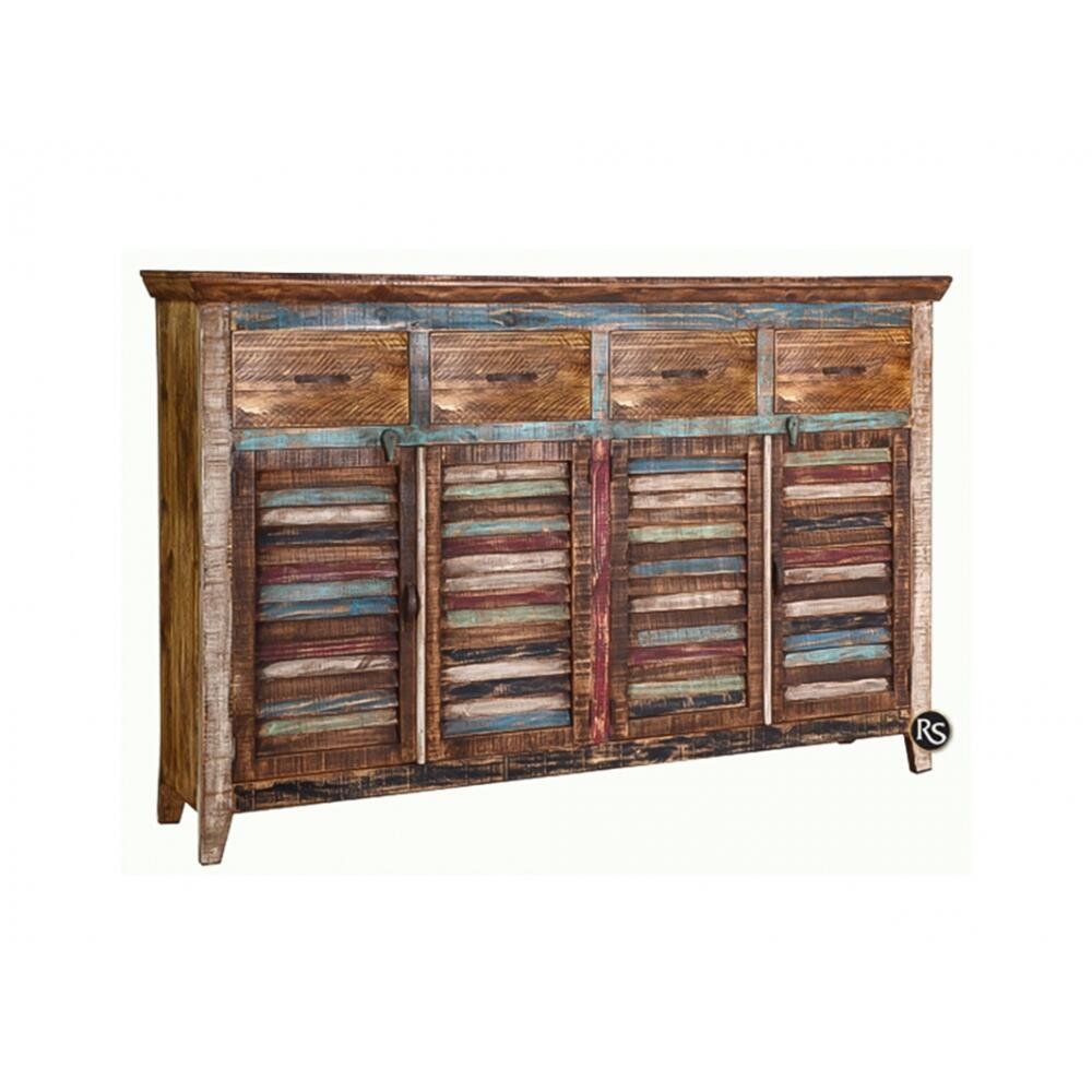 4-Drawer 4-Door 4 Drawer Sideboard