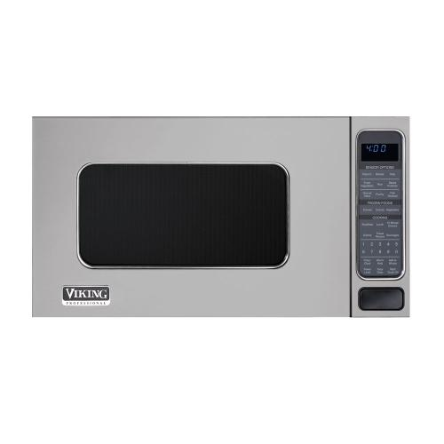 Viking - Metallic Silver Conventional Microwave Oven - VMOS (Microwave Oven)