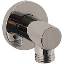 RND Shower Outlet Elbow Brushed Nickel