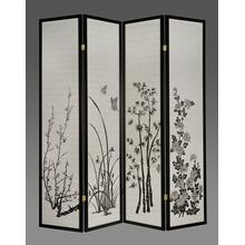 7033 PRINT 4-Panel Room Divider