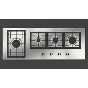 "Fulgor Milano44"" Gas Cooktop - Stainless Steel"
