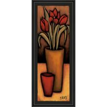 """Tulipas Vermelhas"" By H. Alves Framed Print Wall Art"