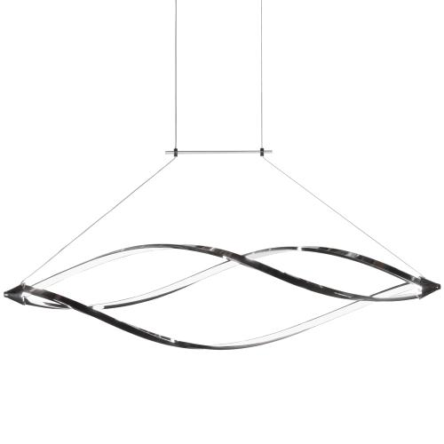 LED Horizontal Pendant W/swooped Arms