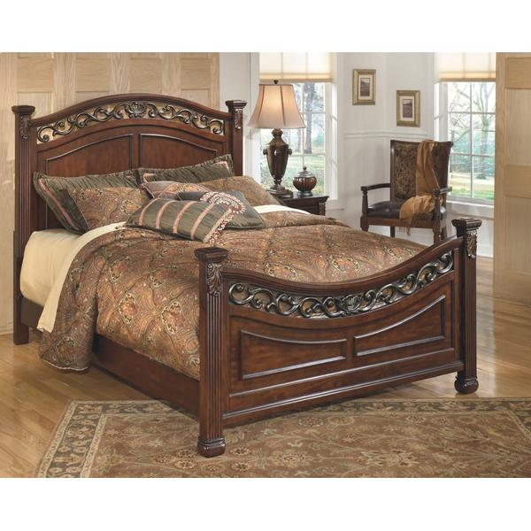 Leahlyn King Panel Bed