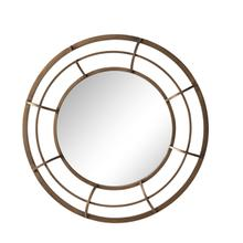 """See Details - Metal Frame 28"""" Wall Mirror , Gold - Wb"""