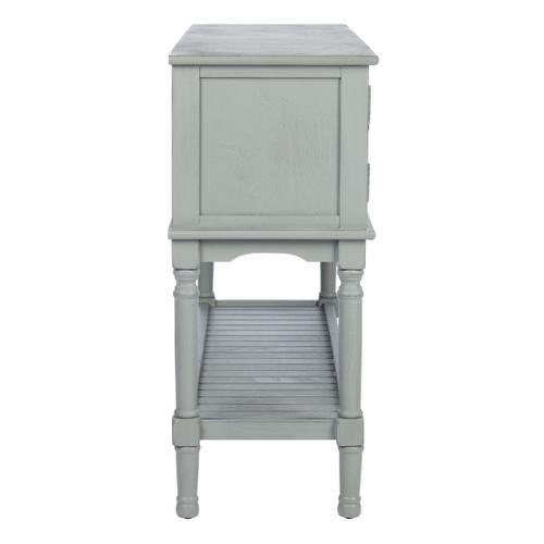 Safavieh - Tate 2 Drawer 2 Door Console Table - Distressed Grey
