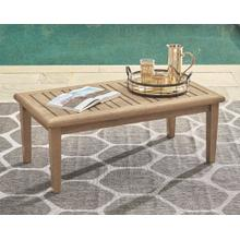View Product - Gerianne Rectangular Cocktail Table Grayish Brown