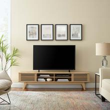 """See Details - Render 70"""" Entertainment Center TV Stand in Oak"""