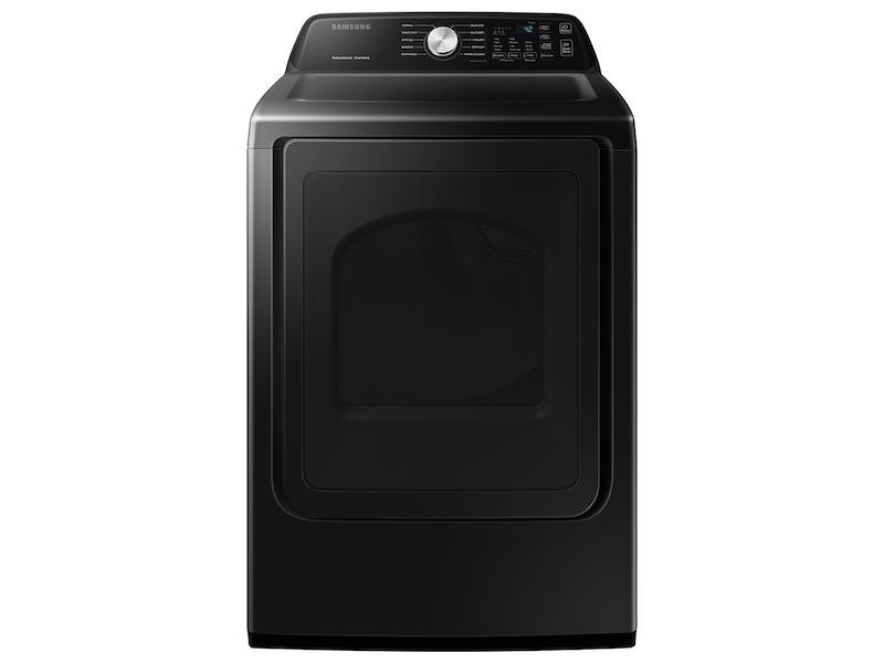 Samsung7.4 Cu. Ft. Gas Dryer With Sensor Dry In Brushed Black