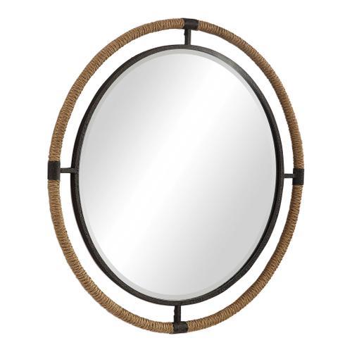 Melville Round Mirror