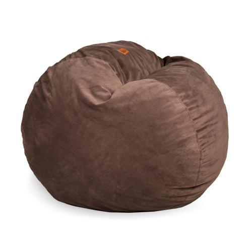 Full Chair - Plush Fur - Tan
