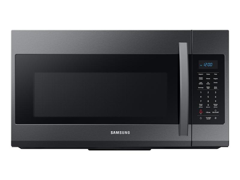 Samsung1.9 Cu Ft Over The Range Microwave With Sensor Cooking In Black Stainless Steel