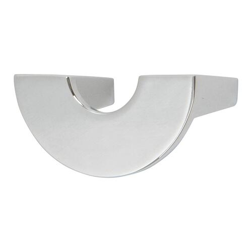 Roundabout Knob 1 1/4 Inch (c-c) - Polished Chrome