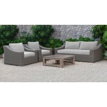 Renava Palisades Outdoor Beige Wicker Sofa Set