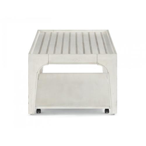 Harmony Rectangular Coffee Table with Casters