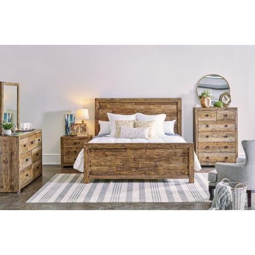 Jake Bedroom - Queen Bed, Dresser, Mirror, Chest, and Night Stand