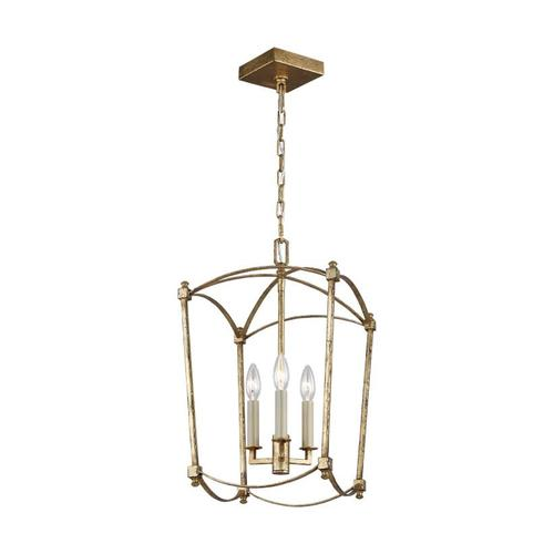 Thayer Mini-Lantern Antique Gild