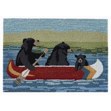 "Liora Manne Frontporch Are We Bear Yet"" Indoor/Outdoor Rug Lake"
