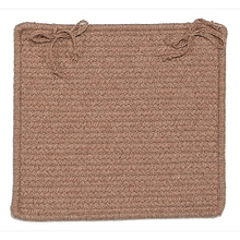 """Westminster Chair Pad WM80 Taupe 15"""" X 15"""" (Set 4)"""