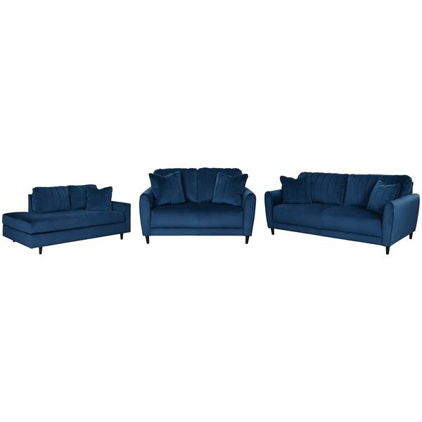 See Details - Sofa, Loveseat and Chaise