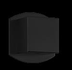 3-Way Diverter Trim Kit, SQU + Safire Black Product Image