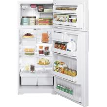 GE® ENERGY STAR® 18.1 Cu. Ft. Top-Freezer Refrigerator (This is a Stock Photo, actual unit (s) appearance may contain cosmetic blemishes. Please call store if you would like actual pictures). This unit carries our 6 month warranty, MANUFACTURER WARRANTY and REBATE NOT VALID with this item. ISI 33388