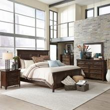 Product Image - King Panel Bed, Dresser & Mirror, Chest, Night Stand