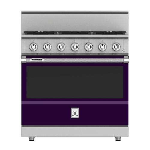 "Hestan - 36"" 5-Burner Dual Fuel Range - KRD Series - Lush"