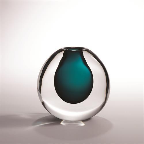 Ice Vase-Azure-Sm