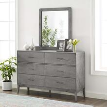 Georgia 2 Piece Bedroom Set in Gray