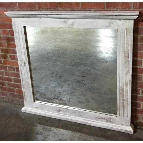 MICMIRR  Chalet Mirror - ASPEN GRAY (Shown in White)