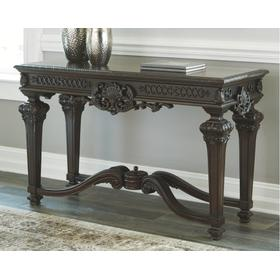 Brynhurst Sofa Table Reddish Brown