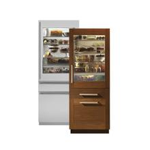 """Monogram 30"""" Integrated Glass-Door Refrigerator *FLOOR SAMPLE*"""