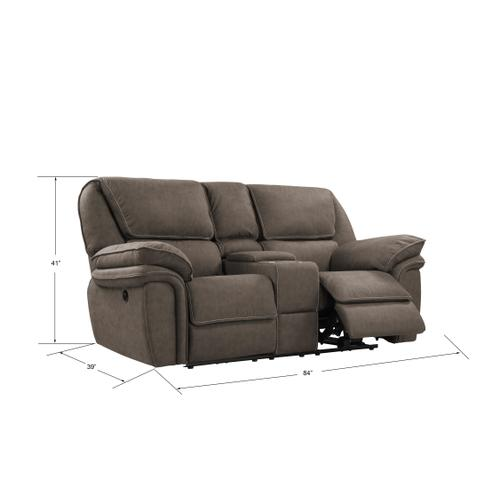 Emerald Home Furnishings - Power Console Loveseat