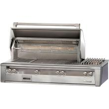 """See Details - 56"""" Sear Zone Grill with Side Burner Built-In"""