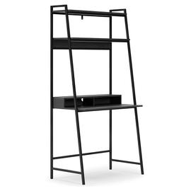 """Yarlow 36"""" Home Office Desk With Shelf"""