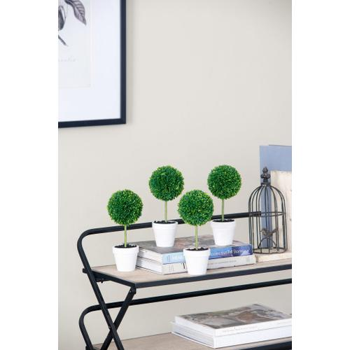 Gallery - S/3 Potted Boxwood Topiaries