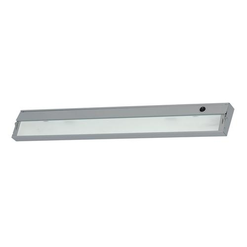 ZeeLite 4-Light Under-cabinet Light in Stainless Steel with Diffused Glass