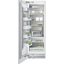 "See Details - Vario freezer 400 series RF 461 700 fully integrated Niche width 24"" (61 cm), Niche height 84"" (213.4 cm)"
