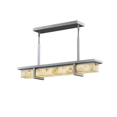 """Monolith 30"""" Linear LED Outdoor Chandelier"""