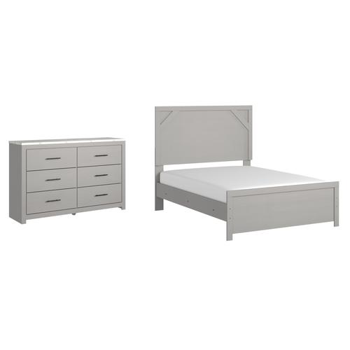 Ashley - Full Panel Bed With Dresser