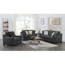 Ryland Gray Sofa, Loveseat, 1.5 Chair, U3872